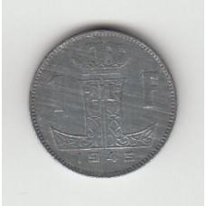 1 франк, Бельгия, 1945