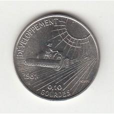 0,10 гурдов, Гаити, 1981