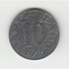 10 пара, Королевство Сербов, Хорватов и Словенцев, 1920
