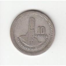 10 сентаво, Гватемала, 1950