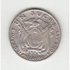 1 сукре, Эквадор, 1928