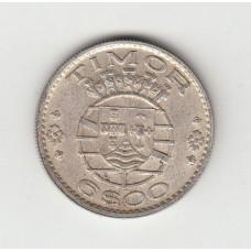 6 эскудо, Португальский Тимор, 1952