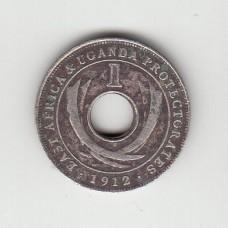 1 цент, Восточная Африка и протекторат Уганда, 1912