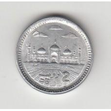 2 рупии, Пакистан, 2014
