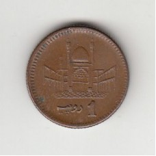 1 рупия, Пакистан, 2004