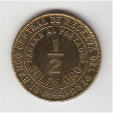 1/2 соля, Перу, 1944