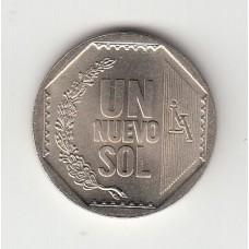 1 новый соль, Перу, 2009