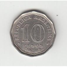 10 песо, Аргентина, 1966