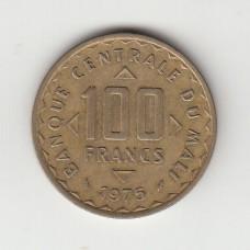 100 франков, Мали, 1975