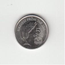 5 центов, Фиджи, 1995