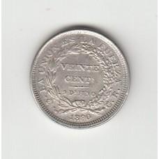 20 сентаво, Боливия, 1890