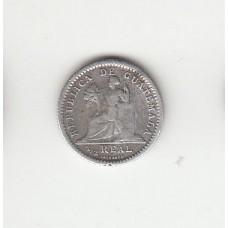 1/2 реала, Гватемала, 1897