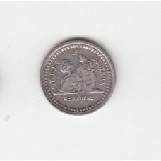 1/2 реала, Гватемала, 1889