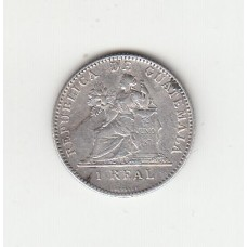 1 реал, Гватемала, 1897