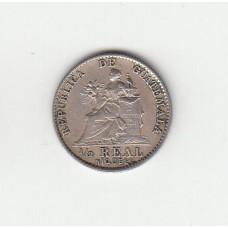1/2 реала, Гватемала, 1900