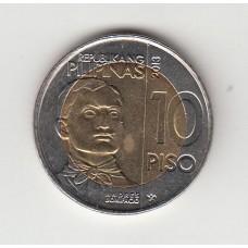 10 писо, Филиппины, 2013