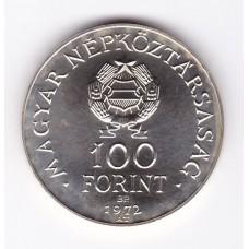 100 форинтов, Венгрия, 1972