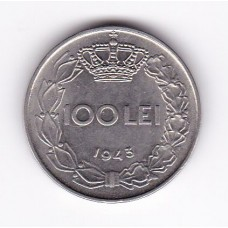 100 лей, Румыния, 1943