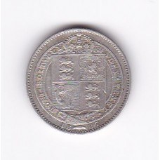 1 шиллинг, Великобритания, 1887