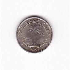 1/2 цента, Либерия, 1941