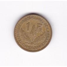 1 франк, Камерун, 1924