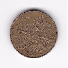 10 франков, Франция, 1984