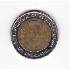 10 долларов, Намибия, 2010