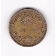 2 шиллинга, Британская Западная Африка, 1938