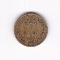 1 шиллинг, Британская Западная Африка, 1949