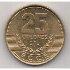 25 колонов, Коста-Рика, 2003