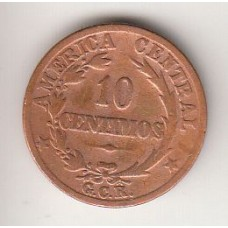 10 сентимо, Коста-Рика, 1929