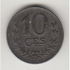 10 сантимов, Люксембург, 1918