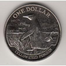 1 доллар, Новая Зеландия, 1988