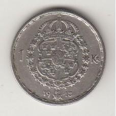 1 крона, Швеция, 1948