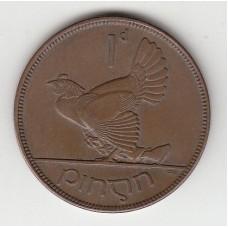 1 пенни, Ирландия, 1928