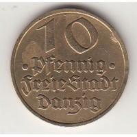 10 пфеннигов, Данциг, 1932