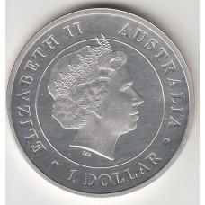 1 доллар, Австралия, 2015
