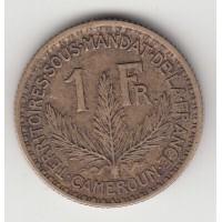 1 франк, Камерун, 1926