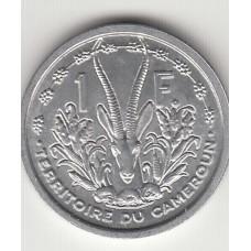 1 франк, Камерун, 1948