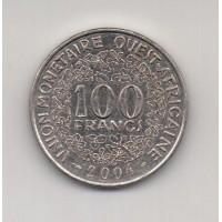 100 франков КФА, 2004