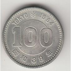 100 иен, Япония, 1964