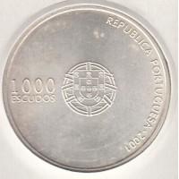 1000 эскудо, Португалия, 2001