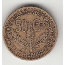 50 сантимов, Камерун, 1925