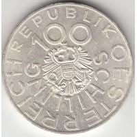 100 шиллингов, Австрия, 1976