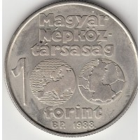 100 форинтов, Венгрия, 1988