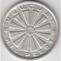 100 песо, Уругвай, 1969