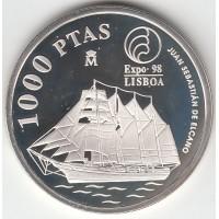 1000 песет, Испания, 1998