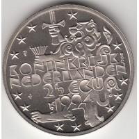 2,5 экю. Нидерланды.1994