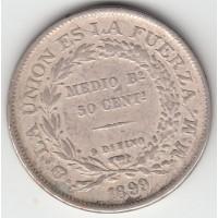 50 сентаво, Боливия, 1899
