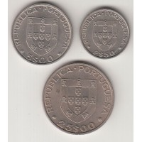 набор монет ФАО (2,5,5,25 эскудо), Португалия, 1983
